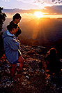 /images/133/2004-07-grand-3-sunset1-v.jpg - #01665: Aneta, Ewka & Ola … July 2004 -- Navajo Point, Grand Canyon, Arizona