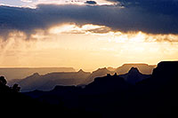 /images/133/2004-07-grand-sunset-view.jpg - #01703: sunset in Grand Canyon … July 2004 -- Navajo Point, Grand Canyon, Arizona