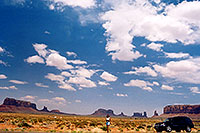 /images/133/2004-07-monvalley-4.jpg - #01718: Ola in Monument Valley … July 2004 -- Monument Valley, Utah