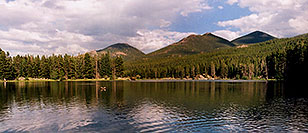 /images/133/2004-07-rocky-lake.jpg - #01787: images of Rocky Mountain National Park … July 2004 -- Sprague Lake, Rocky Mountain National Park, Colorado