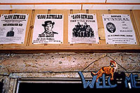 /images/133/2004-08-buffalob-wanted.jpg - #01823: Buffalo Bill museum above Golden … Reward Sundance Kid, Jesse James, The Wild Bunch, Doc Holliday… August 2004 -- Golden, Colorado