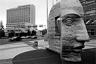 /images/133/2004-08-denver-faces-bw1.jpg - #01824: Denver, Colorado … August 2004 -- Denver, Colorado