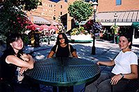 /images/133/2004-08-denver-oksana-table.jpg - #01850: Oksana, Ewka & Ola in Denver … August 2004 -- Denver, Colorado