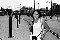 /images/133/2004-08-denver-ola-station.jpg - #01853: Ola at Union Station in Denver … August 2004 -- Denver, Colorado