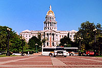 /images/133/2004-08-denver-parliament3.jpg - #01858: Canon in front of Parliament Building in Denver … August 2004 -- Denver, Colorado
