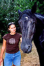 /images/133/2004-08-horses-ola-excalibur-v.jpg - #01878: Ola in Greenwood Village … August 2004 -- Greenwood Village, Colorado