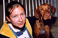 /images/133/2004-08-jack-aneta2.jpg - #01892: friendly Jack (Vizsla) in Cherry Creek … August 2004 -- Cherry Creek, Colorado
