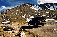 /images/133/2004-08-mt-evans-mtns-jeep.jpg - 01925: my Jeep at Summit Lake … August 2004 -- Mt Evans, Colorado