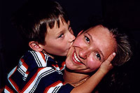 /images/133/2004-08-olas-aneta-trent.jpg - #01944: Trent kissing Aneta … August 2004 -- Greenwood Village, Colorado