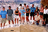 /images/133/2004-08-verde-people1.jpg - #01999: Mesa Verde ruins … by Durango … August 2004 -- Mesa Verde, Colorado