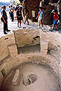 /images/133/2004-08-verde-people2-v.jpg - #01989: Mesa Verde ruins … by Durango … August 2004 -- Mesa Verde, Colorado