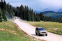 /images/133/2004-08-wolfcreek-car-scenic2.jpg - #01995: Wolf Creek Pass … August 2004 -- Wolf Creek Pass, Colorado
