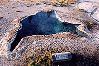 /images/133/2004-08-yello-g-bluestar.jpg - #02050: Blue Star Spring (blue is the hottest temperature) … August 2004 -- Yellowstone, Wyoming
