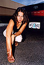 /images/133/2004-09-car-ola5-v.jpg - #02105: Ola with her black Toyota Camry in Englewood … Sept 2004 -- Englewood, Colorado