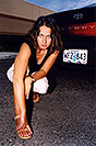 /images/133/2004-09-car-ola5.jpg - #02117: Ola with her black Toyota Camry in Englewood … Sept 2004 -- Englewood, Colorado