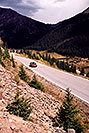 /images/133/2004-09-indep-drive-up02-v.jpg - #02112: road up Independence Pass from Twin Lakes side … Sept 2004 -- Independence Pass, Colorado