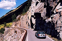 /images/133/2004-09-indep-road1.jpg - #02115: car heading to Aspen from Independence Pass … Sept 2004 -- Independence Pass, Colorado