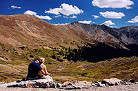 /images/133/2004-09-loveland-view7.jpg - #02157: view from parking lot down East Slope … Sept 2004 -- Loveland Pass, Colorado