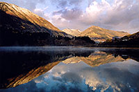 /images/133/2004-10-cb-nicholson1.jpg - #02222: morning at Nicholson Lake … Oct 2004 -- Nicholson Lake, Crested Butte, Colorado