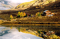/images/133/2004-10-cb-nicholson4.jpg - #02230: morning at Nicholson Lake (elev 8,913ft) … Oct 2004 -- Nicholson Lake, Crested Butte, Colorado