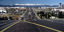 /images/133/2004-10-cent-traffic02.jpg - #02247: along Arapahoe Rd, looking west … Oct 2004 -- Arapahoe Rd, Centennial, Colorado