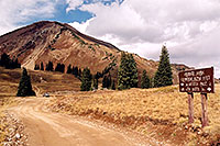 /images/133/2004-10-cinnamon-divide1.jpg - #02250: Cinnamon Mountain (elev 12,293ft) … Oct 2004 -- Paradise Divide, Crested Butte, Colorado