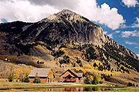 /images/133/2004-10-crested-evening11.jpg - #02275: view of Mount Crested Butte … Oct 2004 -- Crested Butte, Colorado