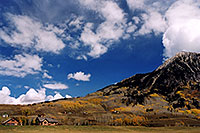 /images/133/2004-10-crested-evening6.jpg - #02278: view of Mount Crested Butte … Oct 2004 -- Crested Butte, Colorado