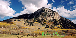 /images/133/2004-10-crested-evening9-pano.jpg - 02284: view of Mount Crested Butte … Oct 2004 -- Crested Butte, Colorado