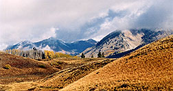 /images/133/2004-10-crested-view4.jpg - #02319: views along Gothic Road … Oct 2004 -- Crested Butte, Colorado