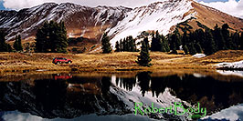 /images/133/2004-10-crested-yule5-pano.jpg - #02331: images of Paradise Divide lake (elev 11,250 ft) … October 2004 -- Paradise Divide Lake, Crested Butte, Colorado