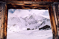 /images/133/2004-11-fremont-lake-hut-frame.jpg - #02384: old Colorado winter … Sept 2004 -- Fremont Pass, Colorado