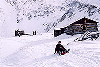 /images/133/2004-11-fremont-lake-hut3.jpg - #02381: winter near Fremont Pass … Sept 2004 -- Fremont Pass, Colorado