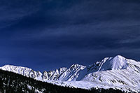 /images/133/2004-11-fremont-lake-mtn2.jpg - #02387: Mountains over Clinton Gulch … November 2004 -- Fremont Pass, Colorado