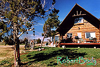 /images/133/2005-03-durango-log-house.jpg - #02466: Log house … March 2005 -- Durango, Colorado