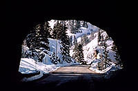 /images/133/2005-03-ouray-tunnel2.jpg - #02527: tunnel near Ouray … heading to Silverton … March 2005 -- Ouray, Colorado