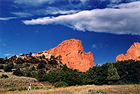 /images/133/2005-09-gardgods3.jpg - #02599: morning at Garden of the Gods … Sept 2005 -- Garden of the Gods, Colorado Springs, Colorado