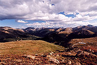 /images/133/2005-09-indep-view5.jpg - #02612: View above Independence Pass, in direction of Twin Lakes … Sept 2005 -- Independence Pass, Colorado