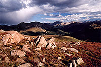/images/133/2005-09-indep-view6.jpg - #02613: View from above Independence Pass … Sept 2005 -- Independence Pass, Colorado