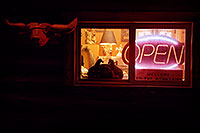 /images/133/2006-02-divide-cowboy-night.jpg - #02688: Night at Cowboy Kitchen Bar-B-Que … images of Divide … Feb 2006 -- Divide, Colorado