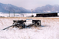 /images/133/2006-02-golden-carriage.jpg - #02703: `Colorado Centennial Farm` … images of Golden … Feb 2006 -- Golden, Colorado