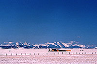 /images/133/2006-02-hartsel-snow-house.jpg - #02733: a house between Hartsel & Wilkerson Pass … Feb 2006 -- Wilkerson Pass, Colorado