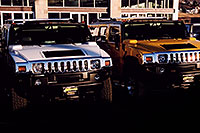 /images/133/2006-02-hummers-medved-04.jpg - #02749: white and yellow H2 Hummers in Castle Rock … Feb 2006 -- Castle Rock, Colorado