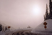 /images/133/2006-02-loveland-fog-sun2.jpg - #02753: road up to Loveland Pass from Keystone side … Feb 2006 -- Loveland Pass, Colorado