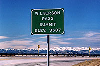 /images/133/2006-02-wilkerson-sign2.jpg - #02795: Wilkerson Pass … Feb 2006 -- Wilkerson Pass, Colorado