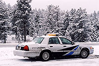 /images/133/2006-03-i70-isprings-police.jpg - #02810: on I-70 near Idaho Springs … March 2006 -- I-70, Idaho Springs, Colorado