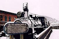 /images/133/2006-03-idaho-springs-train.jpg - #02831: The Narrow Gauge Railroad … images of Idaho Springs … March 2006 -- Idaho Springs, Colorado
