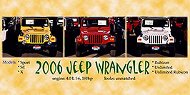 /images/133/2006-03-lithia-jeeps-pro1-pano.jpg - #02836: yellow, red and white 2006 Jeep Wranglers in Centennial … March 2006 -- Lithia Jeep, Centennial, Colorado