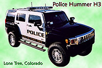/images/133/2006-03-police-hummers01.jpg - #02844: Police Hummers H3 in Lone Tree … Feb 2006 -- Lone Tree, Colorado