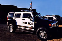 /images/133/2006-03-police-hummers04.jpg - #02847: Police Hummers H3 in Lone Tree … Feb 2006 -- Lone Tree, Colorado
